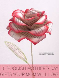 Not sure what to get your mom for Mother's Day? She'll love one of these bookish Mother's Day gifts!