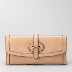 cute :)  FOSSIL® Handbag Silhouettes Wallets & Wristlets:Women Vintage Re-Issue Flap Clutch SL3185