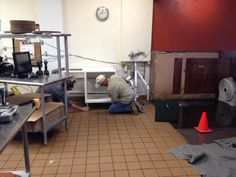 Old Counter out of Here! 08/207/2013