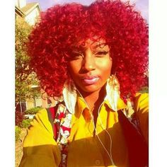 105 Best Red Hair On Black Girls Images In 2019 Hair Red Hair