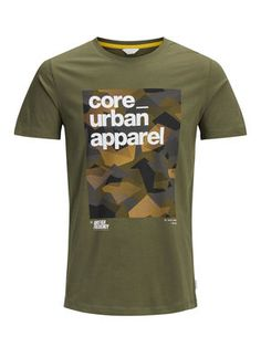 Slim fit printed T-shirt Boys T Shirts, Casual T Shirts, Tee Shirts, Branded T Shirts, Printed Shirts, Camouflage T Shirts, Urban Outfits, Cool Tees, Graphic Tees