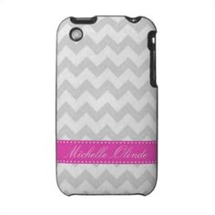 Chevron Striped iPhone 3 Case