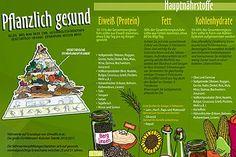 """Nährstoffposter """"Pflanzlich gesund"""""""