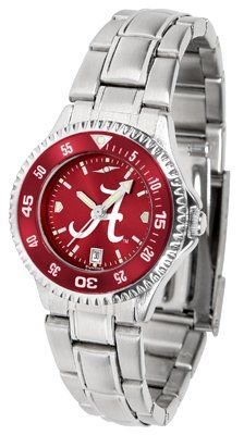 Alabama Crimson Tide- University Of Competitor Anochrome - Steel Band W/ Colored Bezel - Ladies - Women's College Watches by Sports Memorabilia. $87.08. Makes a Great Gift!. Alabama Crimson Tide- University Of Competitor Anochrome - Steel Band W/ Colored Bezel - Ladies