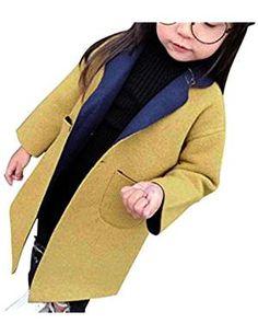 YISUMEI Big Girls Coats Thicker Wool Hooded