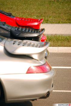Dat asses... 3 times 911 993 serie Turbo