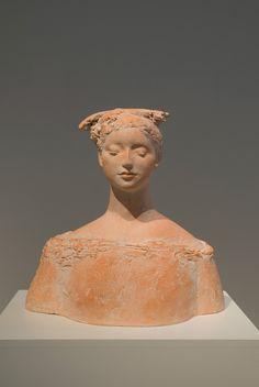 Pink - woman - sculpture - Hiroko Kono