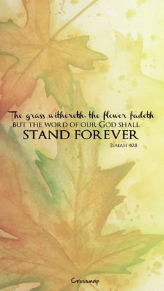 His word shall stand forever | Christian Illustrations | Crossmap Christian Backgrounds and Christian Wallpaper
