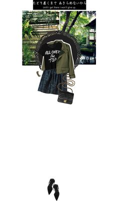 """i will never give up."" by timeak ❤ liked on Polyvore"