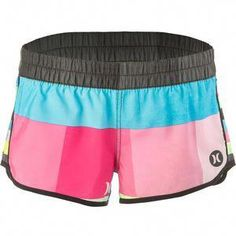 b1e323728f4b4 There's beach fashion that really can't handle getting wet and rowdy, and  then. Hurley ClothingBoard Shorts WomenBeachwear ...
