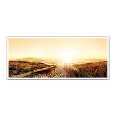 JP London PAN5323 uStrip Sandy Beach Sunset High Resolution Peel and Stick Removable Wall Mural