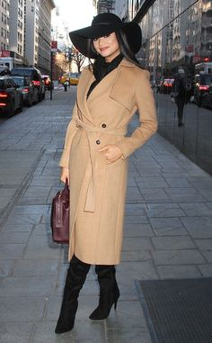 Pia Wurtzbach from The Big Picture: Today's Hot Pics  Miss Universe bundles up as she visits Good Day New York.