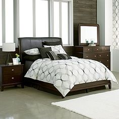 Bedroom Sets Jcpenney louie 8 piece queen bedroom set | bedroom sets | bedroom | bob's