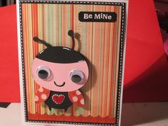 homemade valentine card for kids using cricut - Google Search