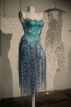 Glass & Wire Dresses by Diana Dias-Leão