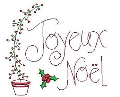 Joyeux Noel Sampler - 2 Sizes! | Christmas | Machine Embroidery Designs | SWAKembroidery.com Needle in a Haystack