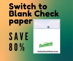 Deluxe checks Alternative - Switch to Blank Check Printing Software - Save - I Think it`s very good, it`s excellent service, I recomend it Check Printing, Online Printing, Blank Check, Page Borders Design, Online Checks, Business Checks, Online Support, Boy Quotes, Letter Size Paper