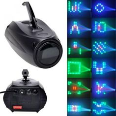 Portable Music Active LED Lights Laser Stage Effect Lighting Club Disco DJ Party Bar KTV New Arrival