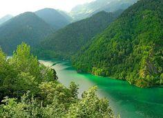 Lake Ritsa, Abkhazia - Georgia