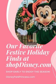 Get your holiday shopping for Chanukah and Christmas done early this year! Supply chain and shipping issues mean that waiting until the last minute may mean no presents under the tree this year. Check out our list of must have Disney holiday items at shopDisney.com! (shopDisney affiliate)