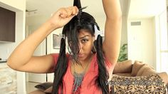 Awesome Hairstyle How to Cut Your Own Hair in Layers 2 Braiding Your Own Hair, How To Cut Your Own Hair, Pretty Hairstyles, Braided Hairstyles, Bow Braid, Blonde Highlights On Dark Hair, Layered Hair, Hair Hacks, Hair Cuts
