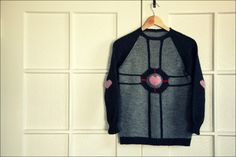 Weighted companion cube sweater and instructions. Definitely want~!