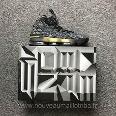 c3e3a928aad68e Zapatillas baloncesto baratas Nike negro1 Lebron James 15 XV hombre