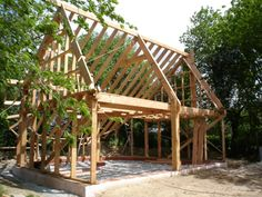 Potager / Permaculture Archives - Page 2 sur 21 - Santé Nutrition Eco Construction, Permaculture Design, A Frame House, Passive House, Shed Homes, Green Architecture, Outdoor Sheds, Earthship, Architect Design