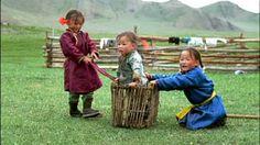Children under 6 playing  (Mongolian )