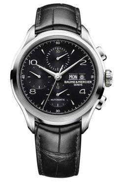 Clifton 10211 Reloj cronógrafo automático con dial negro - Baume