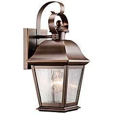 "Kichler Mount Vernon 12 1/2"" High Outdoor Wall Light"