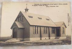 Capilla de Carlos Reyles, Molles 1914, traída del País Vasco