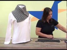 "Programa Arte Brasil - 26/02/2015 - Noemi Fonseca - Gola ""trança"" em Tricô e Crochê - YouTube"