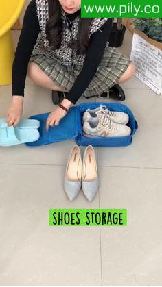 Small Bathroom Storage, Laundry Room Storage, Shoe Storage, Craft Storage, Bedroom Storage, Baby Mehndi Design, Mehndi Designs, Packing Tips For Travel, Travel Hacks