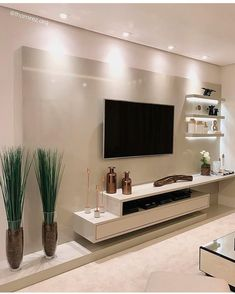 29 Inspiring TV Wall Panel Design Ideas You Must Have - The living room is one of the rooms in the house where we spend the most time. It& the place to rest on the couch, watch a movie with family and frie. Tv Wall Panel, Wall Panel Design, Modern Tv Room, Modern Tv Wall Units, Modern Living, Minimalist Living, Tv Console Modern, Modern Wall, Tv Unit Decor