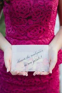 Give out rose petals to guests to shower the bride and groom with as they walk out. I like this much more than rice.