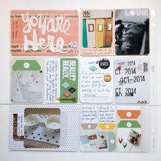 Week 42 project Life 2014 by cannycrafter at Project Life Planner, Scrapbooking, Studio Calico, Crafty Projects, Life Inspiration, Create, Project Planner, Scrapbooks, Memory Books