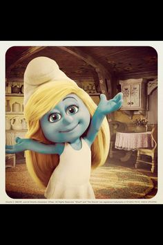 Smurfette is awesome
