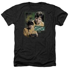"""Checkout our #LicensedGear products FREE SHIPPING + 10% OFF Coupon Code """"Official"""" Star Trek / Ensign Chekov-adult Heather - Star Trek / Ensign Chekov-adult Heather - Price: $34.99. Buy now at https://officiallylicensedgear.com/star-trek-ensign-chekov-adult-heather"""
