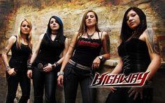 Highway: Banda de Metal Femenino destacada en la escena Bogotana. Su alineación ha sufrido varios cambios, es uno de los íconos del rock de género en el distrito.
