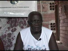 """Mestre Abel - (Careta de Cazumba) - Essa é Minha Cultura.  (""""O Bumba-meu-Boi é uma das mais fortes manifestações culturais maranhenses. E o Cazumba é um importante personagem deste festejo. Por isto, a série """"Essa é Minha Cultura"""", realizada na oficina de vídeo do projeto Maranhão na Tela, entrevistou Mestre Abel, um dos principais fazedores de careta (como é chamada a máscara) de Cazumba"""")."""