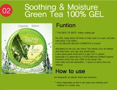 Nature Republic - Green Tea Soothing Gel
