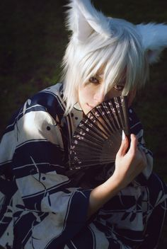 Kamisama Hajimemashita cosplay... Tomoe (V. Well he's amazingly sexy, but I still think there's no more perfect boy than an anime boy. xD My addiction is speaking xd)