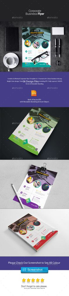 Corporate Flyer Corporate Flyer print dimension with bleeds. Well Layered Organised PSD and EPS Files, CMYK , Print ready, 7 Color Variations & Fully Editable, Text/fonts/co. Free Flyer Templates, Business Powerpoint Templates, Corporate Flyer, Corporate Business, Business Flyers, Building Logo, Business Poster, Marketing Flyers, Creative Flyers