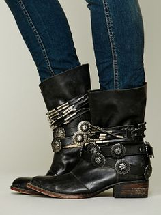 These boots are so Axl Rose, #lovethem! Wyatt Ankle Boot