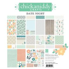 Chickaniddy Crafts - Date Night 12x12 Pad