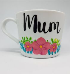 Mum mug, new mum gift, gift for mother, coffee mug, coffee mug for mum, mother's day, mom birthday gift, from daughter, best mum, from son by CutieCreationsDE on Etsy