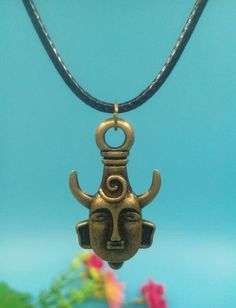 Supernatural Dean Winchester Mask Necklace (Free Shipping)