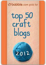 Top 50 craft blogs...sorting my way through right now..