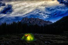 awakening in tent (Italy) by Antonio Tafuro on 500px